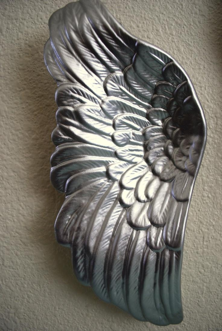 107 Best Angel Wing Products Images On Pinterest | Angel Wings In Angel Wings Sculpture Plaque Wall Art (View 10 of 20)