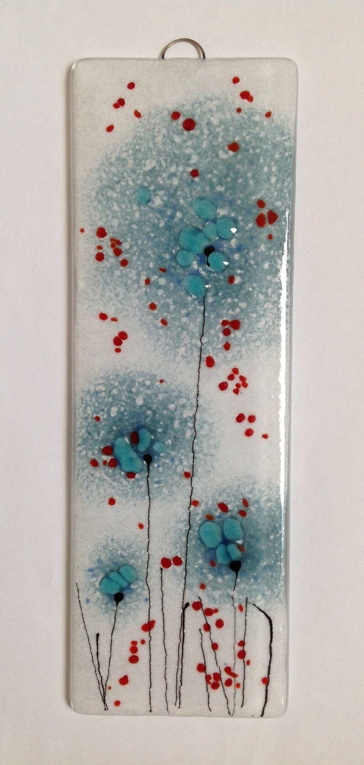 111 Best Fused Glass Wall Art – Panels – Hangings – Candle Screens Pertaining To Fused Glass Wall Art Hanging (View 8 of 20)