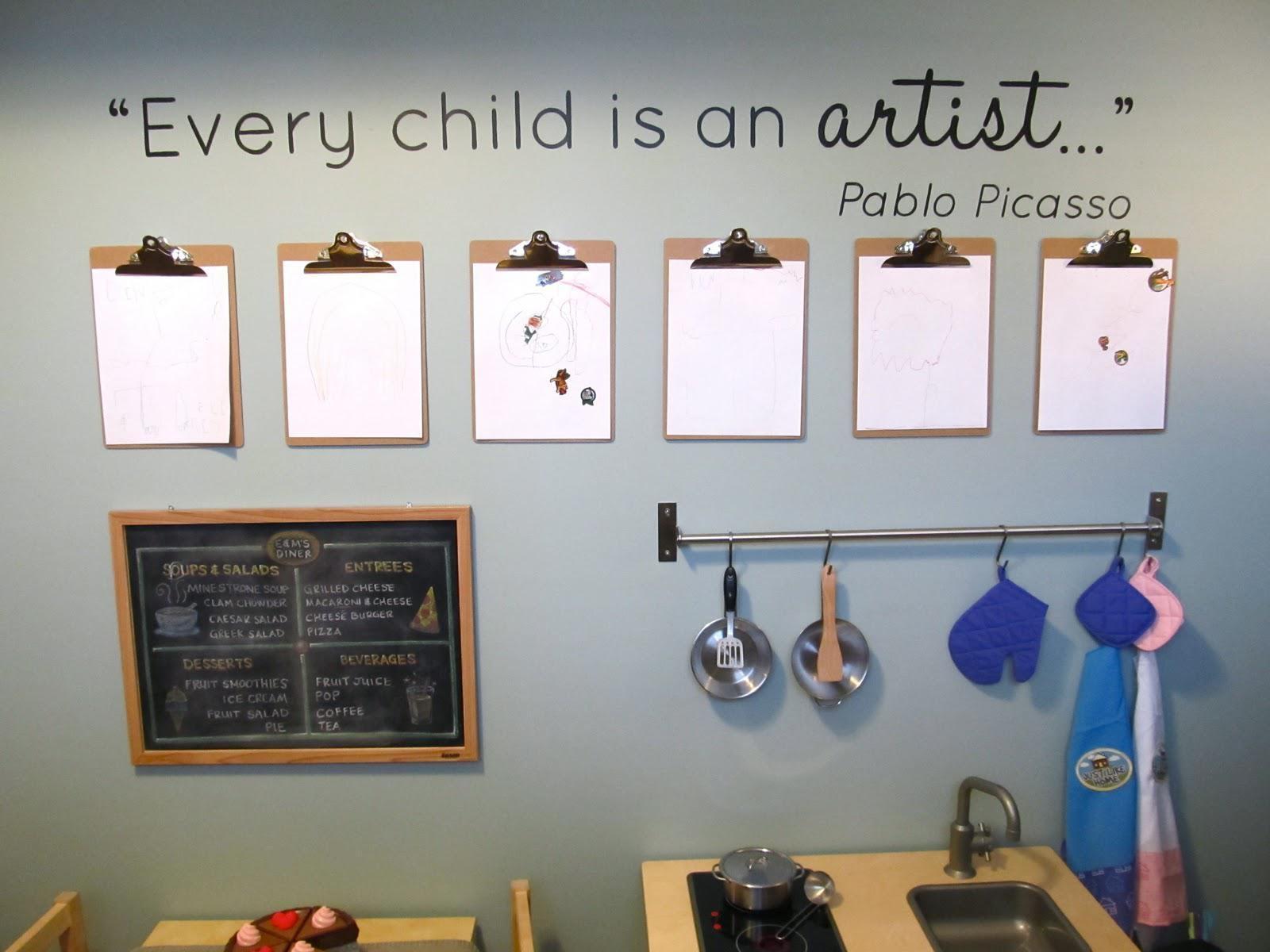 Wall Art Ideas: Wall Art for Playroom (Explore #10 of 20 Photos)