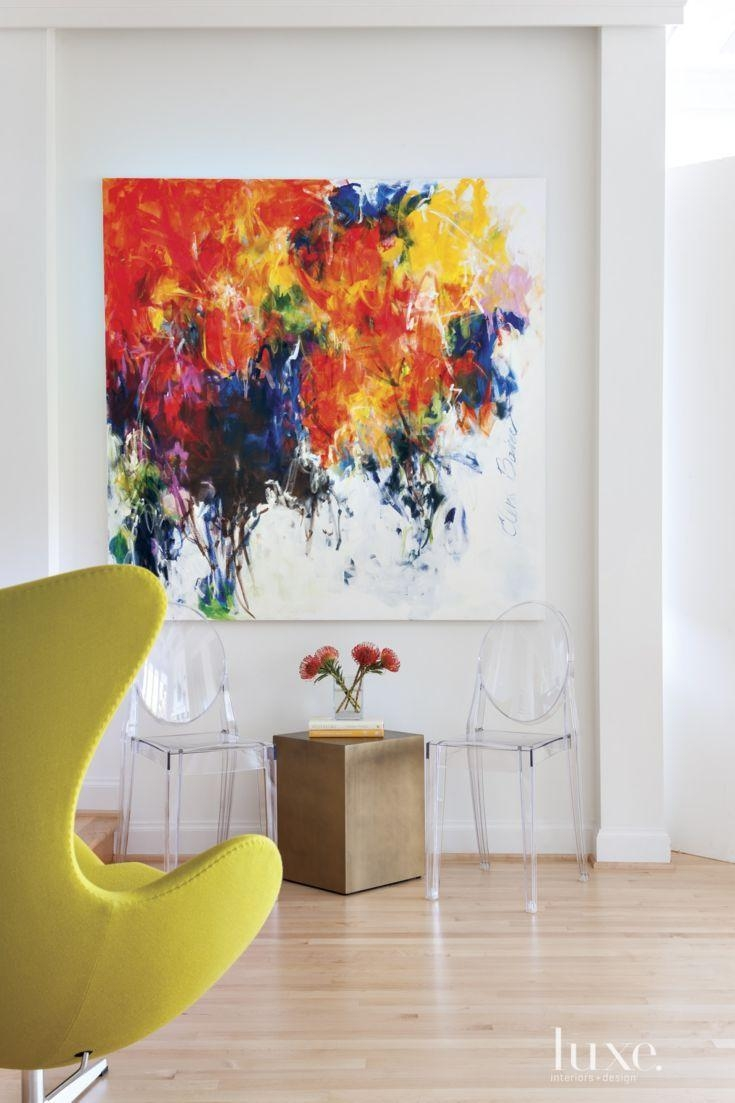 1252 Best Art Displayed Images On Pinterest   Abstract Art In Vibrant Wall Art (Image 1 of 20)