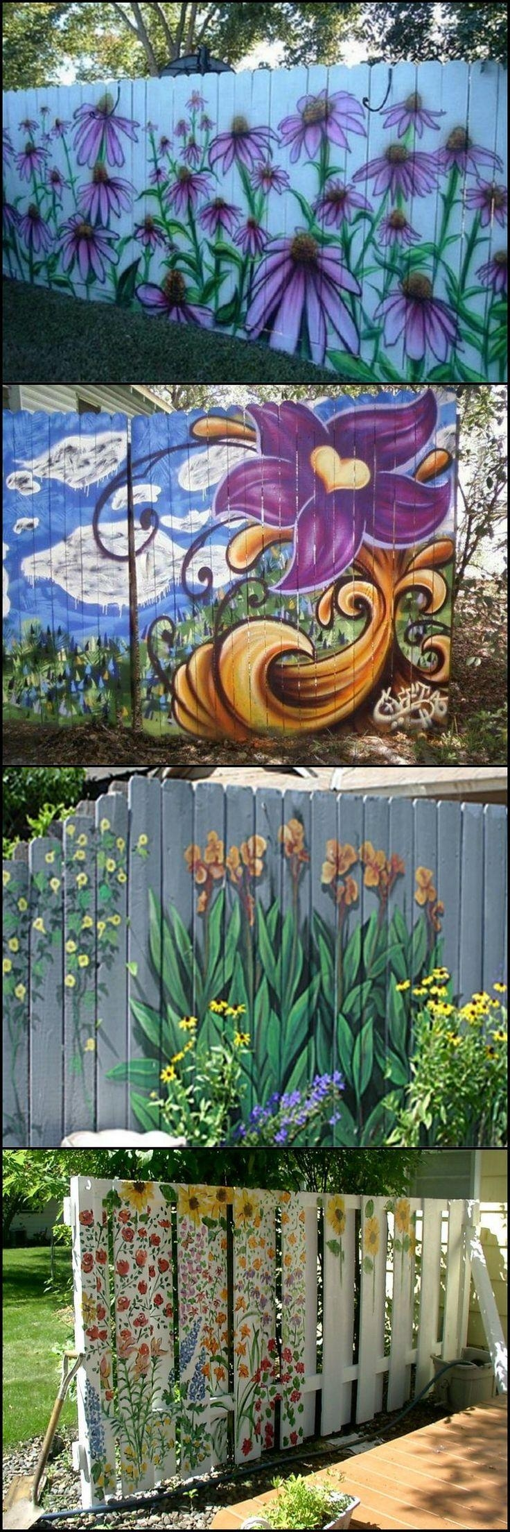 2018 latest metal sunflower yard art wall art ideas for Garden state pool scene quote