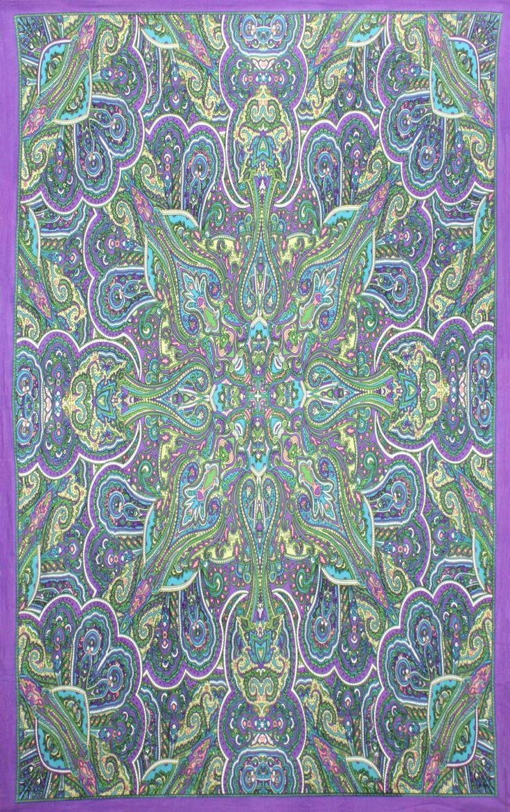 13 Best Cool Home Decor Images On Pinterest | Psychedelic Tapestry With Kaleidoscope Wall Art (Image 1 of 20)