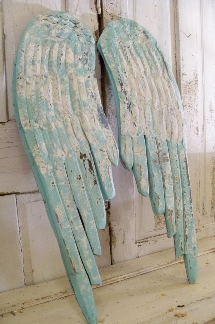 132 Best Angels/angel Wings Images On Pinterest | Angel Wings With Regard To Angel Wings Sculpture Plaque Wall Art (View 8 of 20)