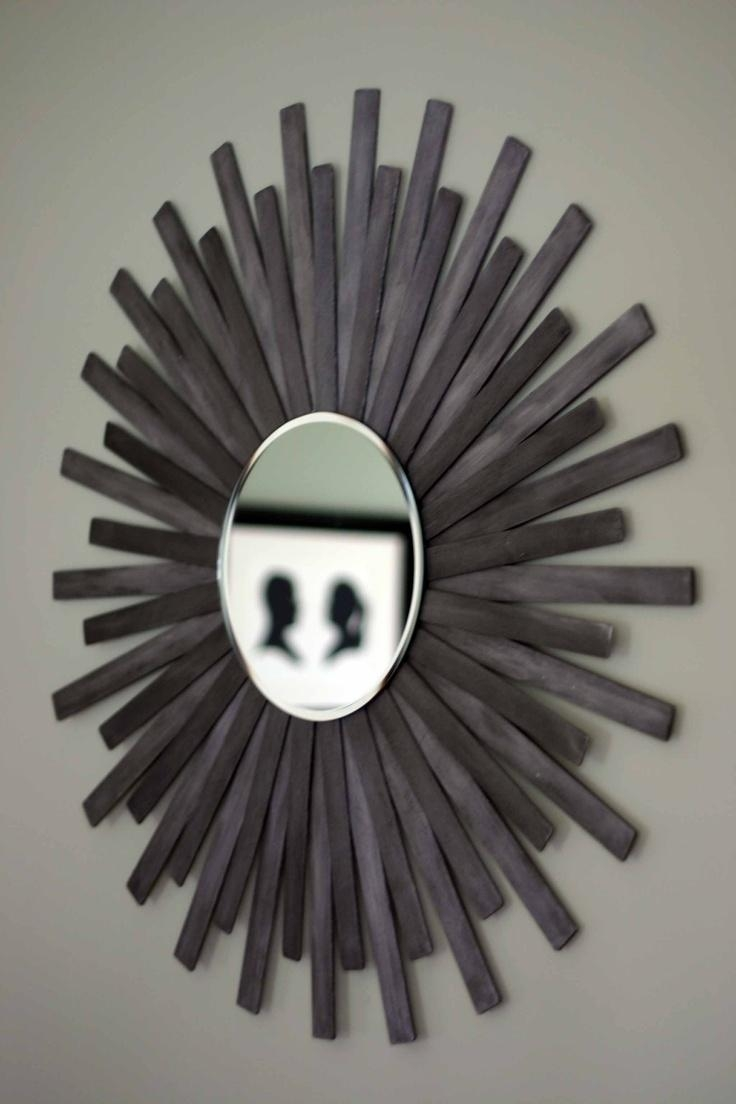133 Best Diy Mirrors Images On Pinterest | Mirrors, Diy Mirror And Throughout Diy Mirror Wall Art (Image 1 of 20)