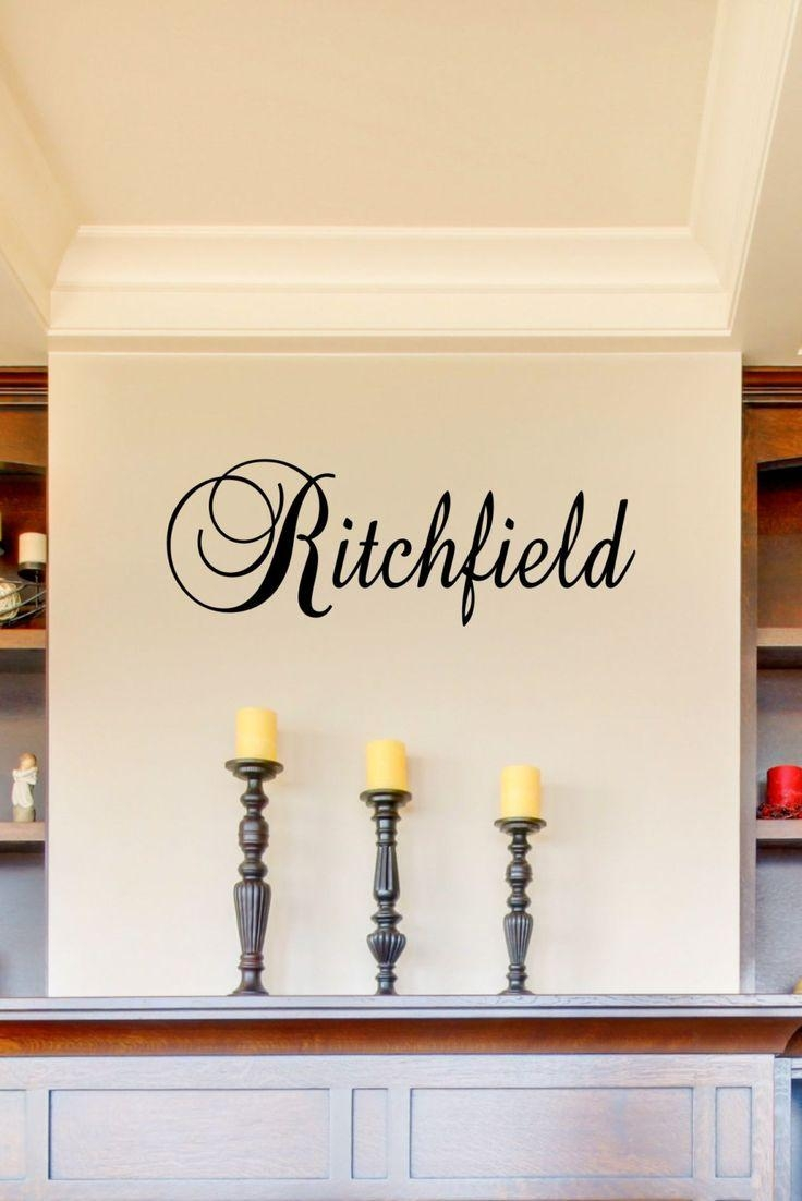 148 Best Monogram|Name|Initials Vinyl Decalsthe Vinyl Company intended for Last Name Wall Art