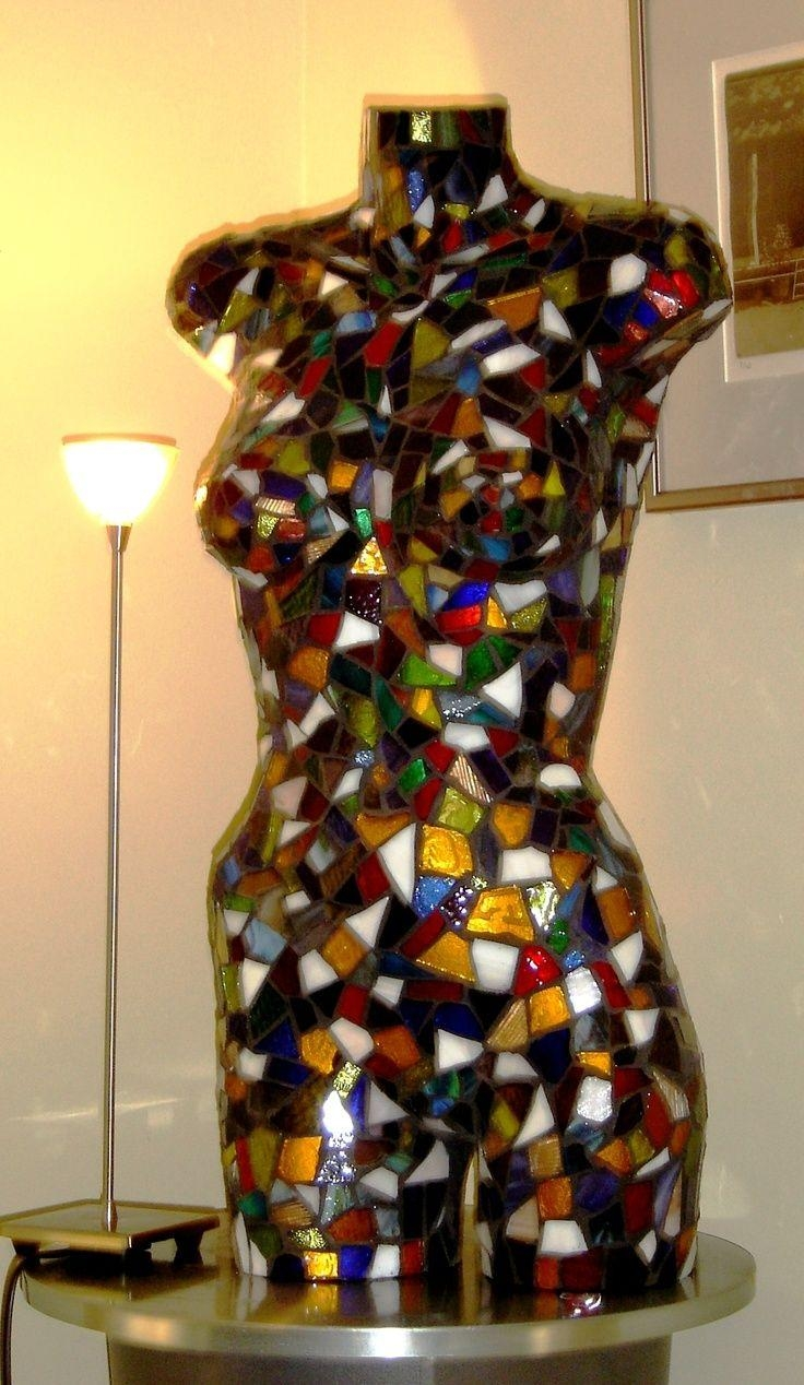 153 Best Celebrating Women ~ Mosaic Art Images On Pinterest Throughout Mannequin Wall Art (Image 2 of 20)