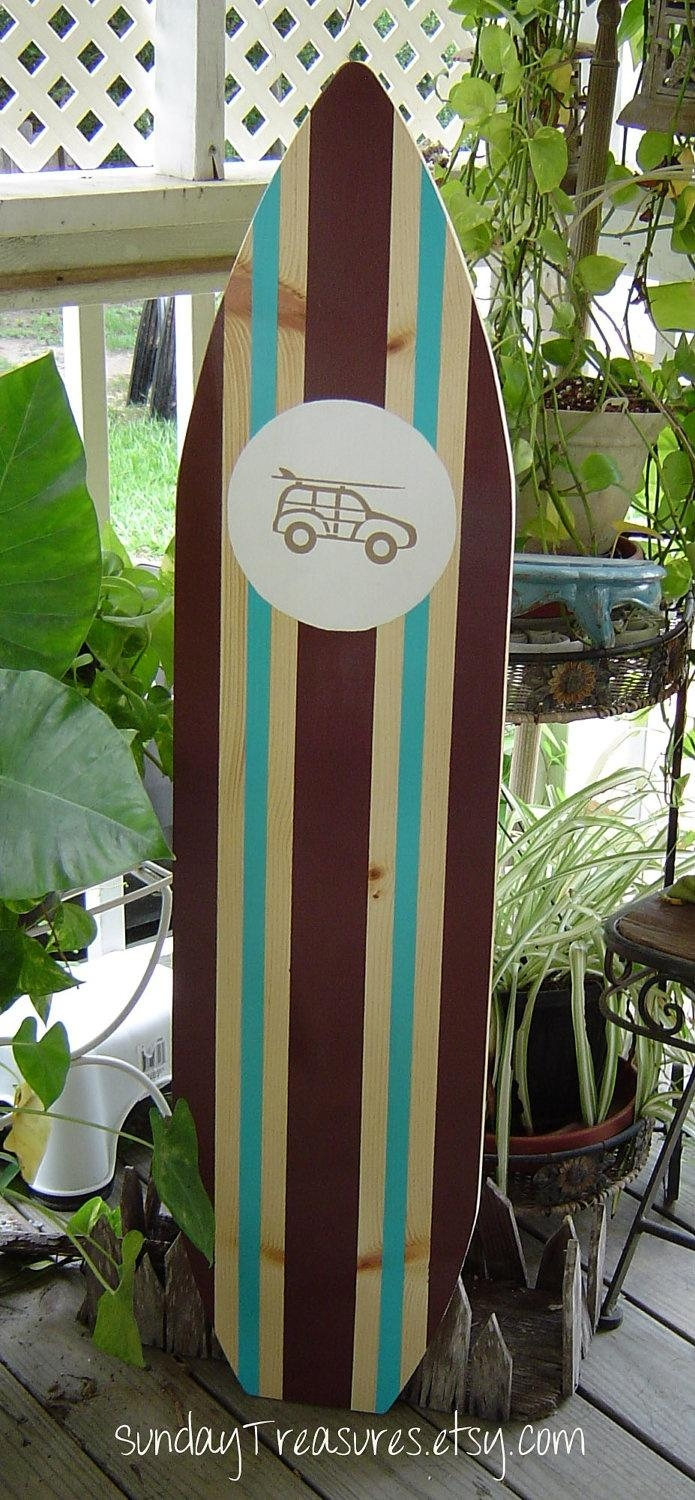 157 Best Surf/woody Car Boy's Nursery Theme Images On Pinterest with regard to Hawaiian Wall Art Decor