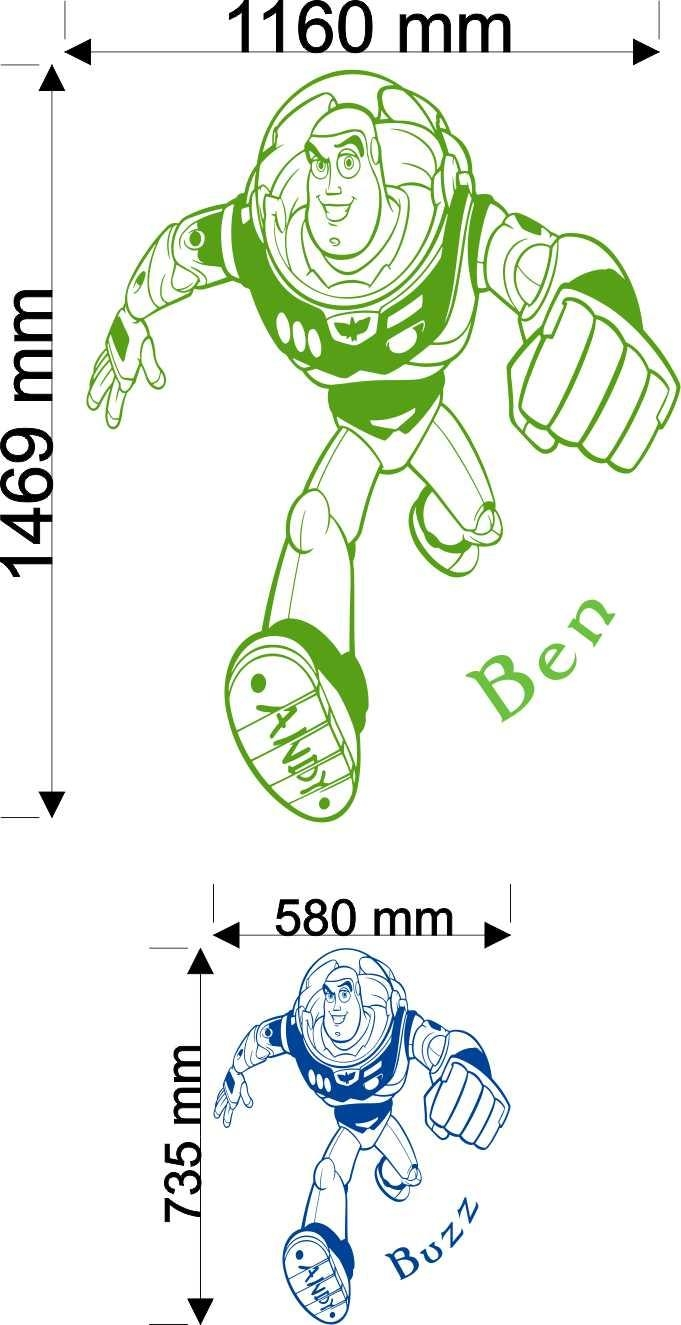 16 Buzz Lightyear Wall Decal, Buzz Lightyear – Artequals In Toy Story Wall Art (Image 1 of 20)