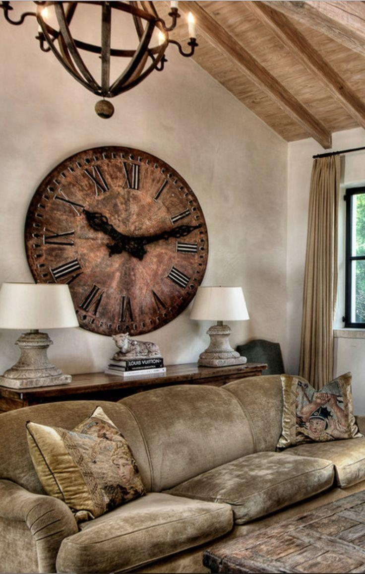 1601 Best Clocks And Vintage Tick Tock Images On Pinterest Intended For Italian Ceramic Wall Clock Decors (Image 2 of 20)