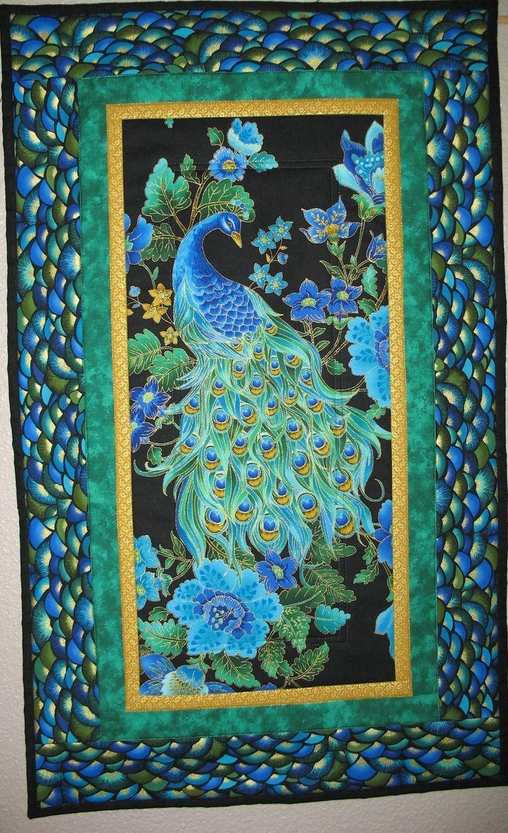 174 Best Peacock Design Inspiration. Images On Pinterest | Peacock inside Jeweled Peacock Wall Art
