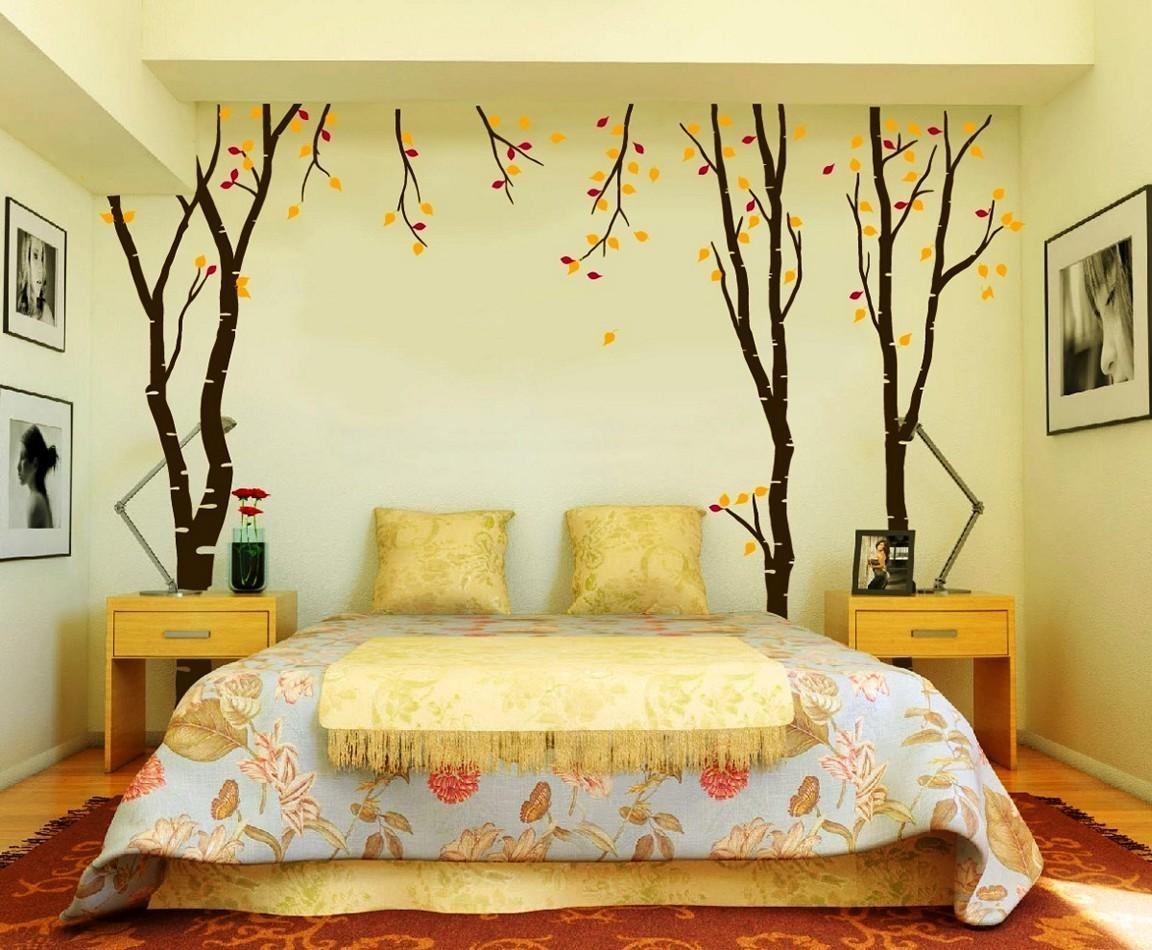 18 Modern Bedroom Wall Designs Within Bed Wall Art (View 9 of 20)