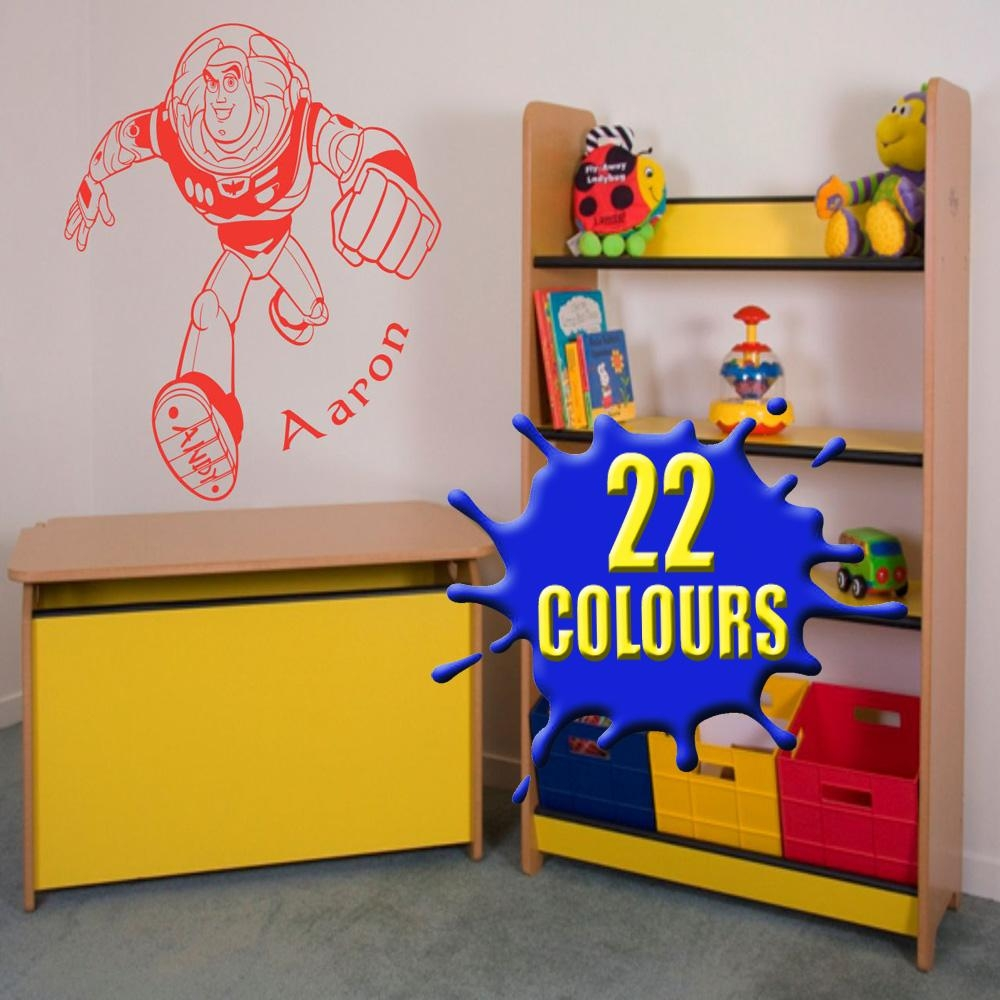 19 Toy Story Wall Decal, Enjoyable Toy Story Wall Decals Intended For Toy Story Wall Art (Image 2 of 20)