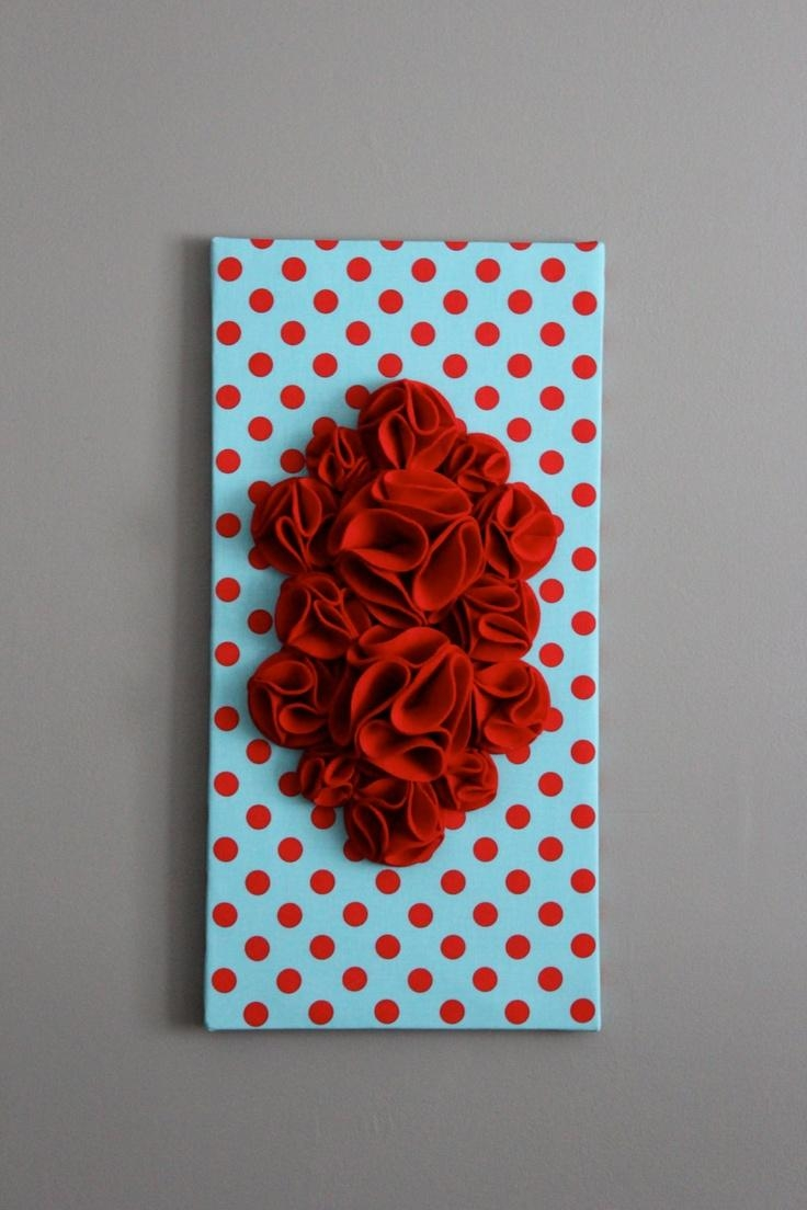 196 Best Decor: Red & Turquoise Images On Pinterest | Colors For Red And Turquoise Wall Art (Image 1 of 20)