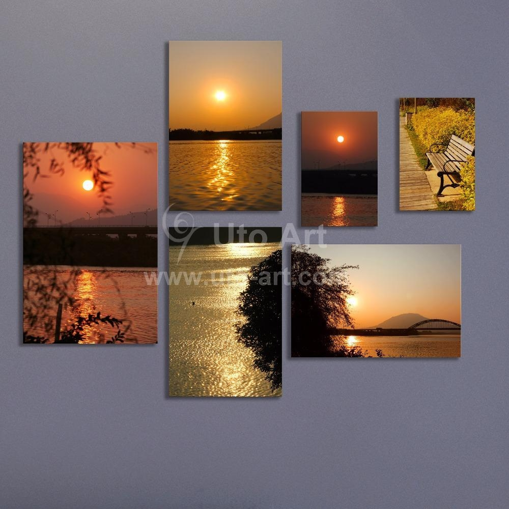 2017 Multiple Piece Canvas Wall Art Modern Modular Pictures In Multiple Piece Canvas Wall Art (View 4 of 16)