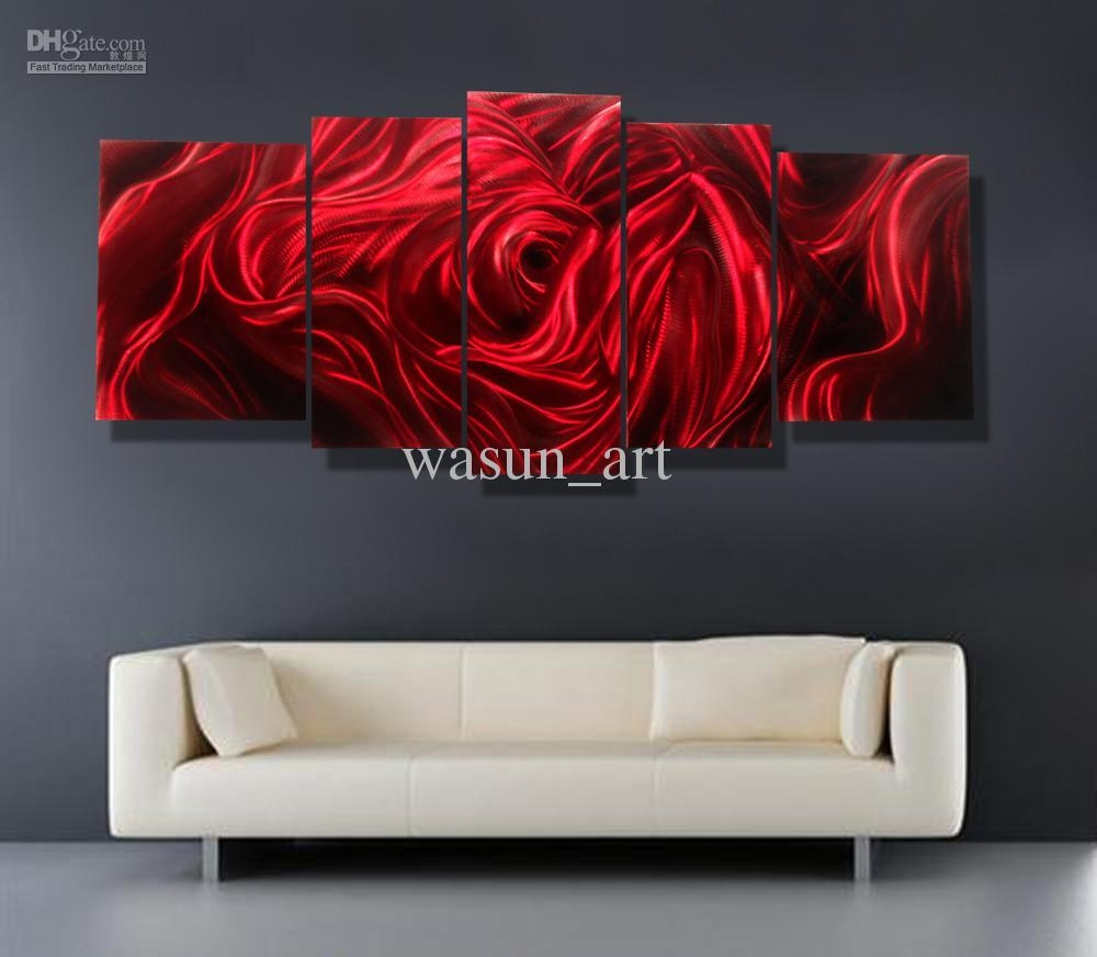 Featured Image of Red Rose Wall Art