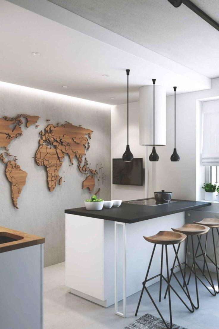 206 Best Mapas Images On Pinterest | Architecture, Ideas And Live with World Map Wood Wall Art