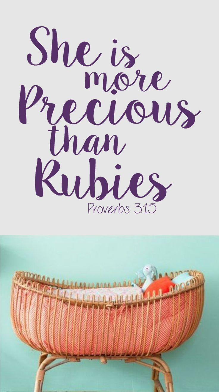 214 Best Penny Lane Images On Pinterest | Children Church, Church Within Nursery Bible Verses Wall Decals (Image 1 of 20)