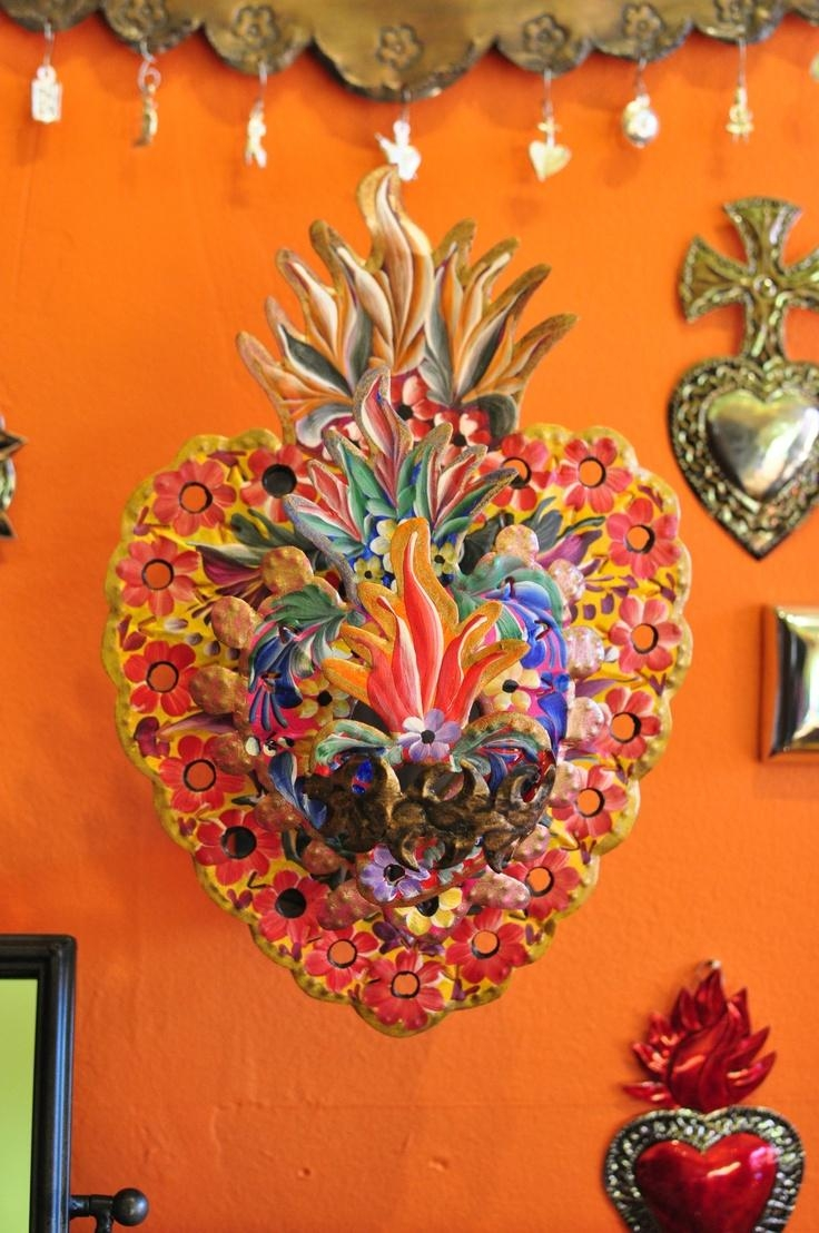 215 Best Mexican Art All Things Mexico Images On Pinterest Within Mexican Metal Yard Wall Art (Image 1 of 20)
