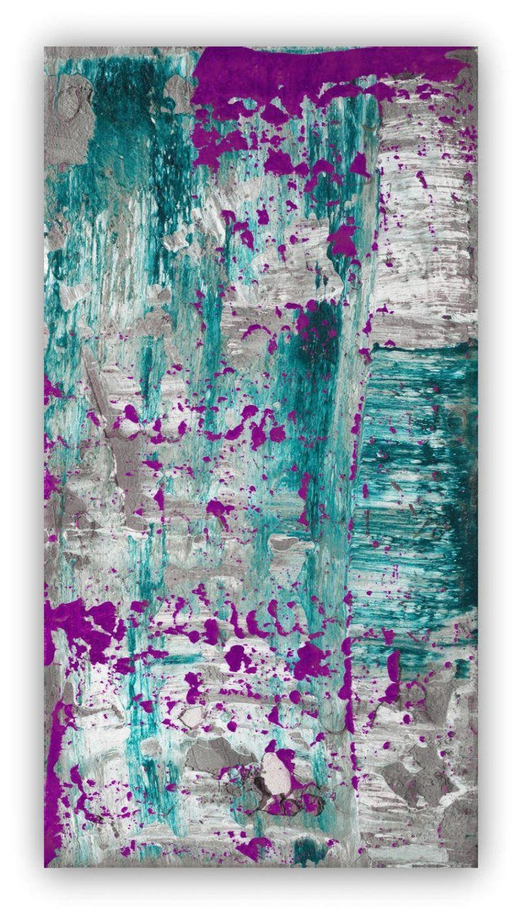 216 Best Wall Art Images On Pinterest | Diy, Canvas Ideas And Diy For Aubergine Wall Art (Image 1 of 20)
