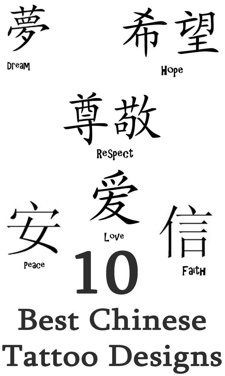 25+ Best Chinese Tattoos Ideas On Pinterest | Meaning Tattoos Intended For Chinese Symbol For Inner Strength Wall Art (Image 2 of 20)