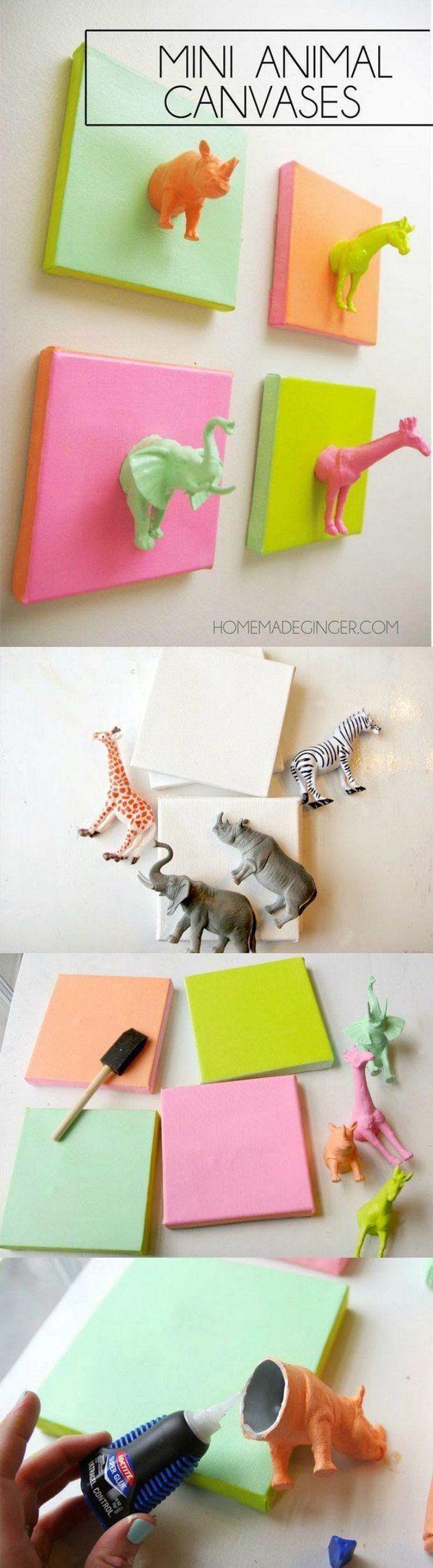25+ Best Colorful Wall Art Ideas On Pinterest | Animal Art For for Vibrant Wall Art