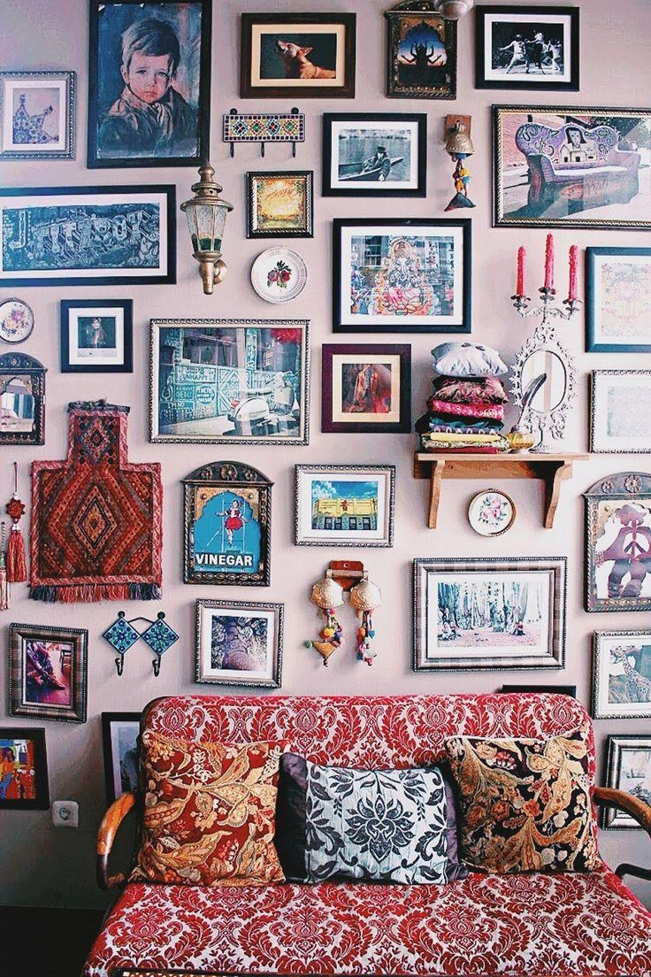 25+ Best Eclectic Wall Decor Ideas On Pinterest | Eclectic Vintage for Vintage Style Wall Art