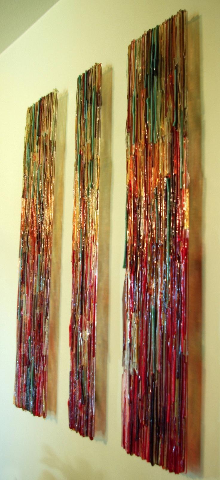 25+ Best Glass Wall Art Ideas On Pinterest | Glass Art, Fused Throughout Fused Glass Wall Art (View 4 of 20)