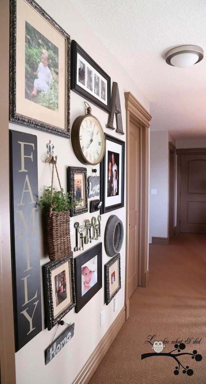 25+ Best Hallway Wall Decor Ideas On Pinterest | Stair Wall Decor Regarding Wall Art Ideas For Hallways (Image 3 of 20)