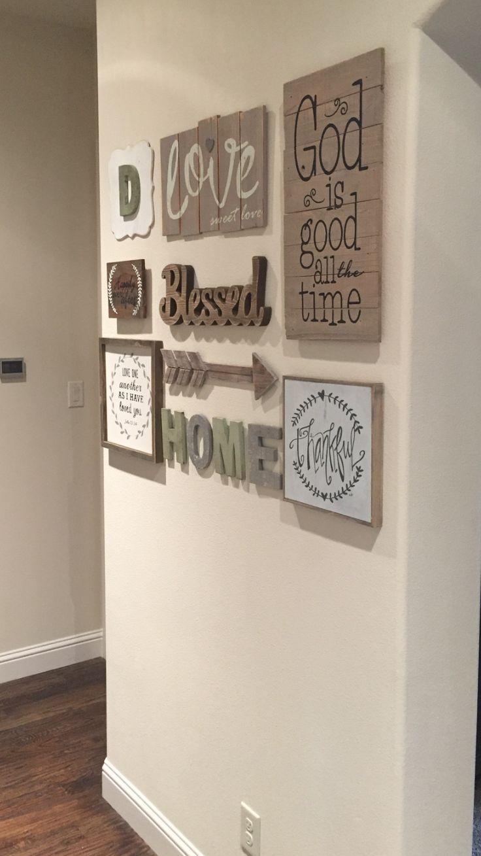 25+ Best Hallway Wall Decor Ideas On Pinterest | Stair Wall Decor With Wall Art Ideas For Hallways (Image 5 of 20)