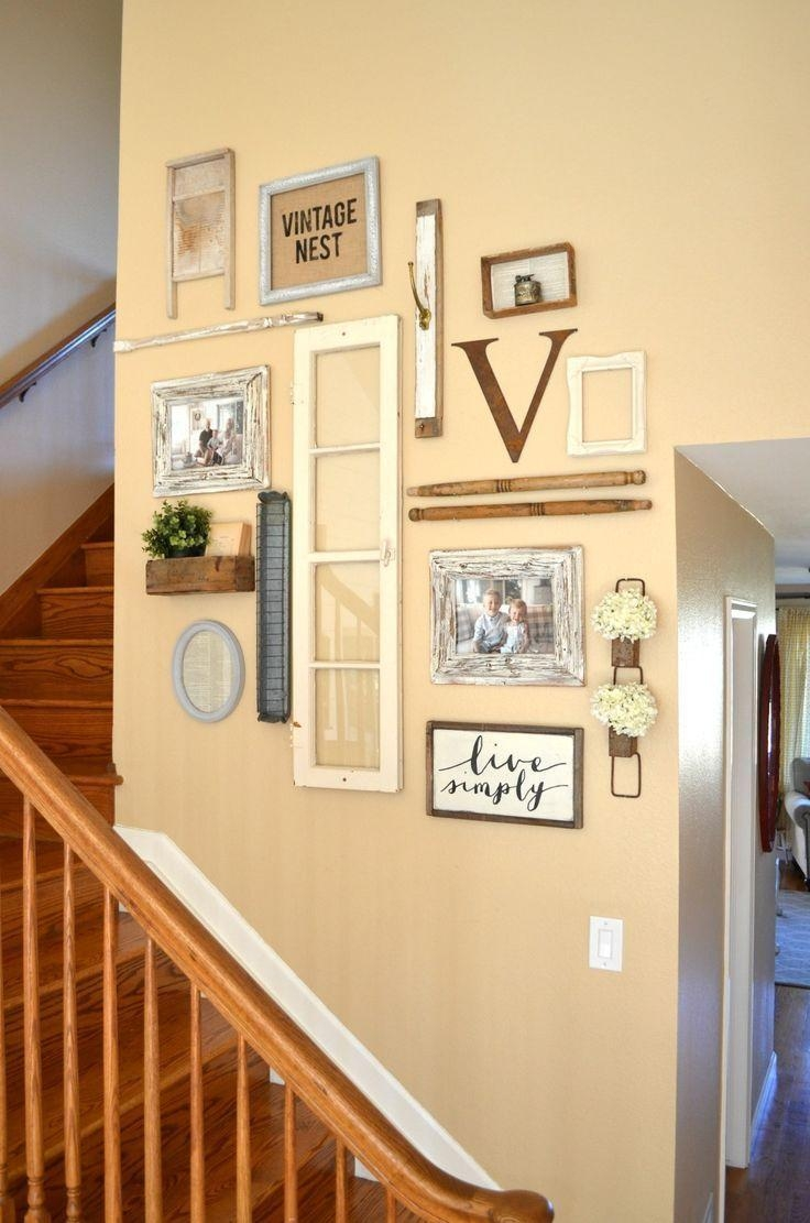 25+ Best Hallway Wall Decor Ideas On Pinterest | Stair Wall Decor Within Wall Art Ideas For Hallways (View 17 of 20)