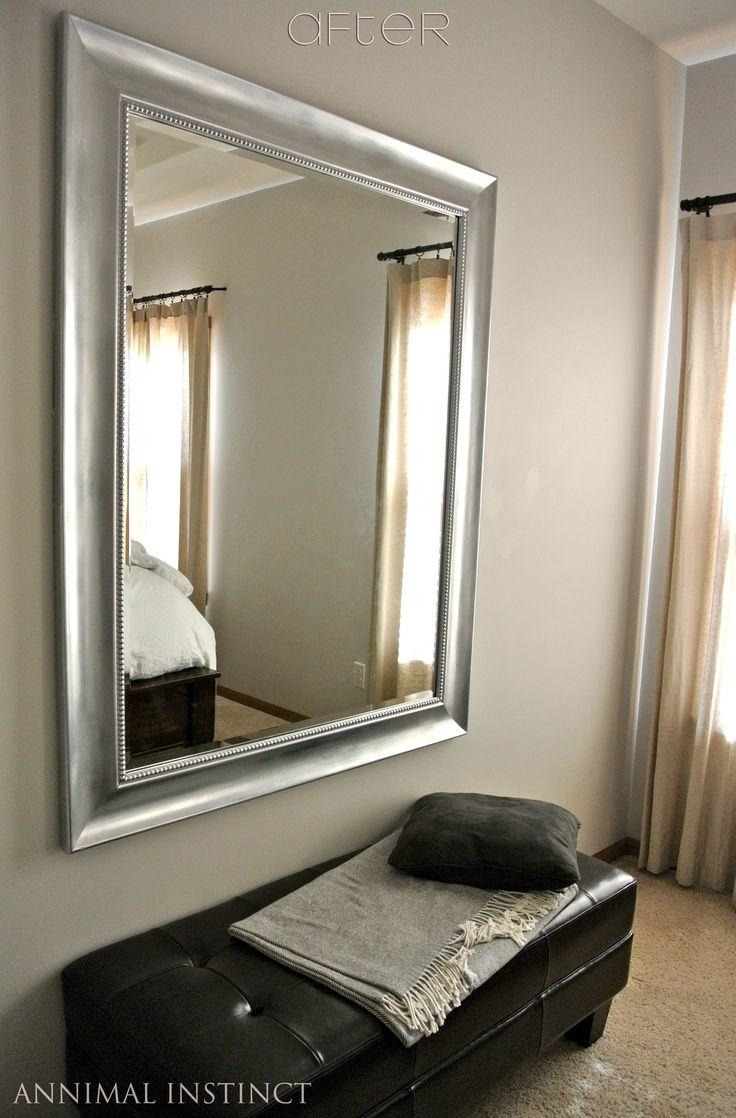 Mirror with mirrored frame