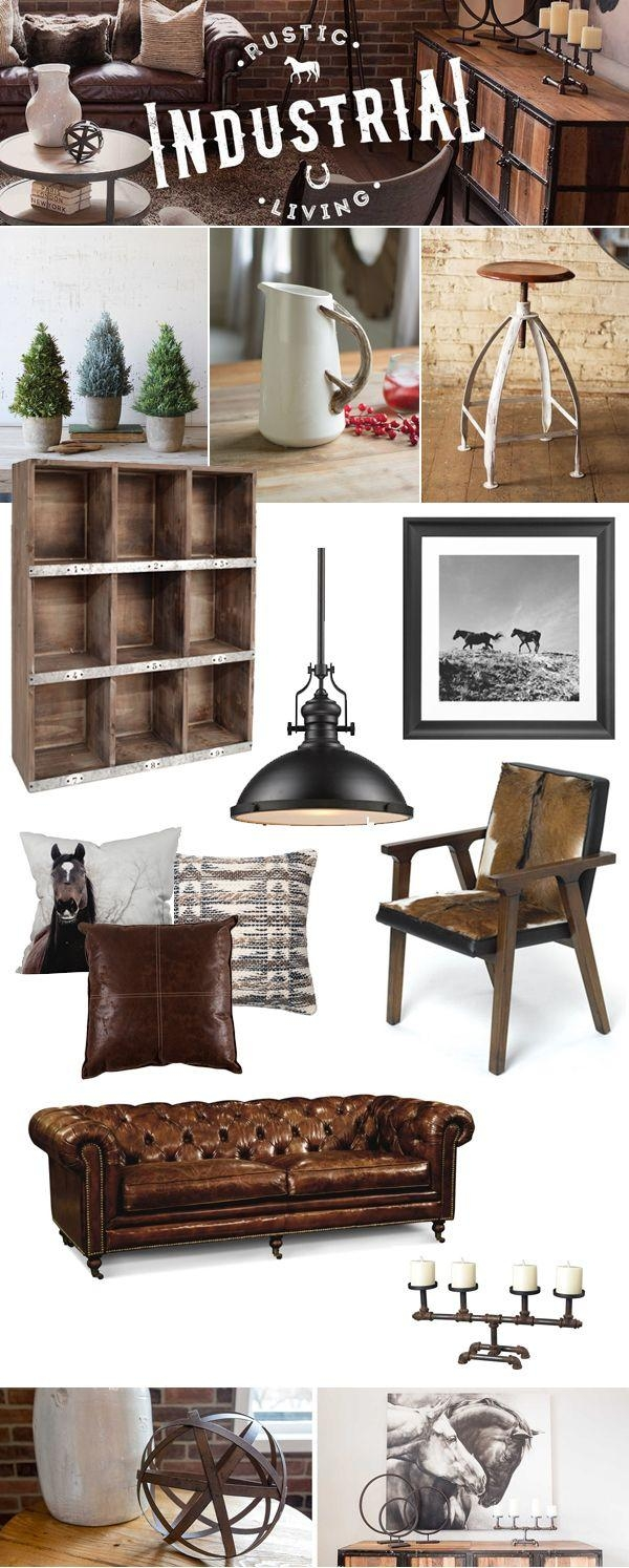 25+ Best Vintage Industrial Decor Ideas On Pinterest | Edison Bulb pertaining to Vintage Industrial Wall Art