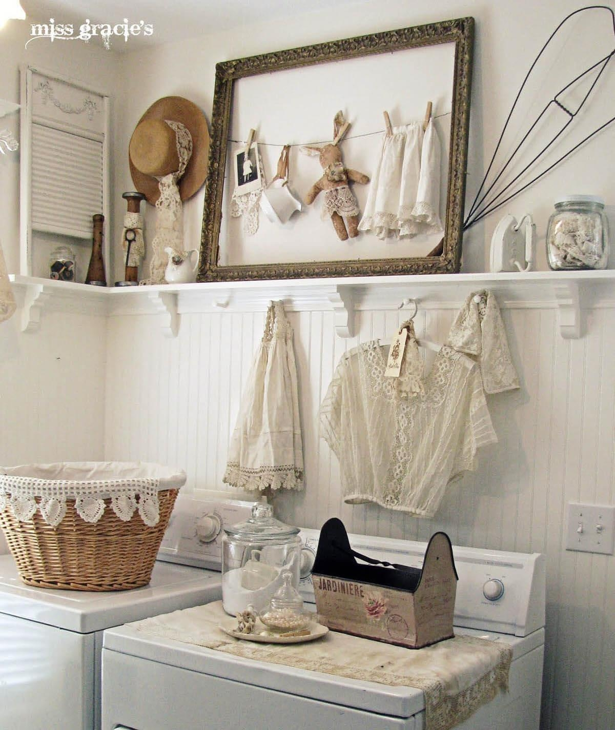 25 Best Vintage Laundry Room Decor Ideas And Designs For 2017 Throughout Laundry Room Wall Art Decors (View 11 of 20)