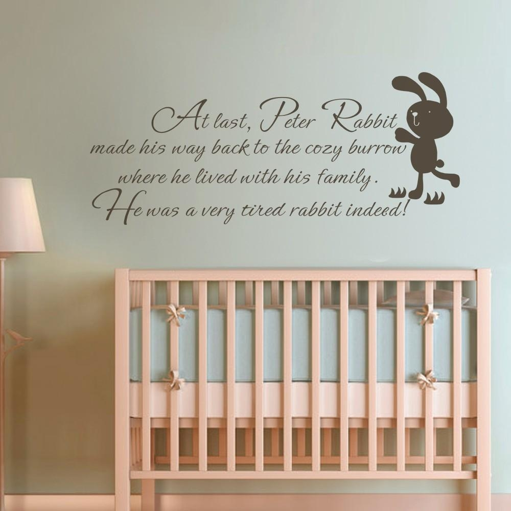 29 Peter Rabbit Wall Decals, Wall Decals Peter Rabbit Bedding with regard to Peter Rabbit Wall Art