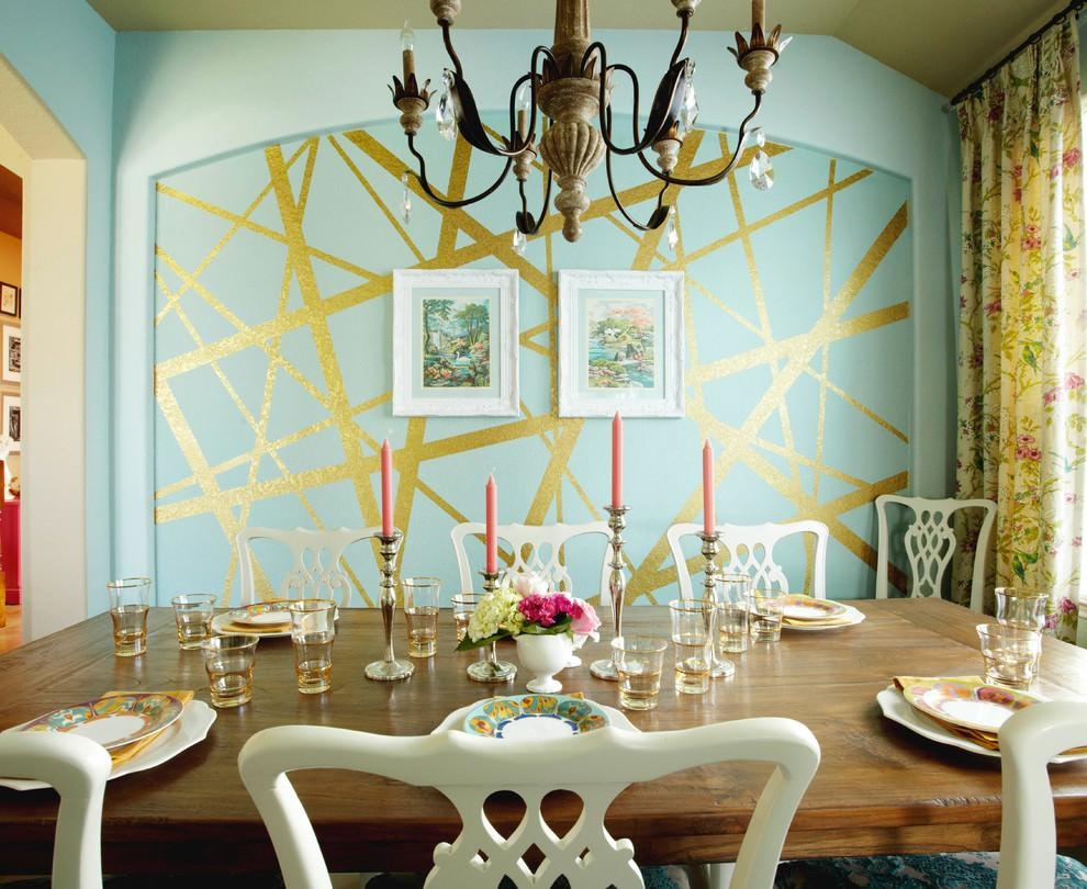 29+ Wall Decor Designs, Ideas For Dining Room | Design Trends Regarding Dining Wall Art (Image 2 of 20)