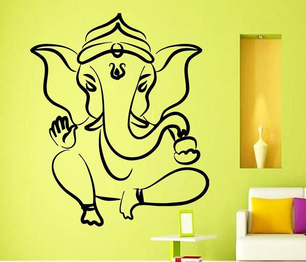 3 Tips To Spruce Up Your Decor This Ganesh Chaturthi! pertaining to Ganesh Wall Art