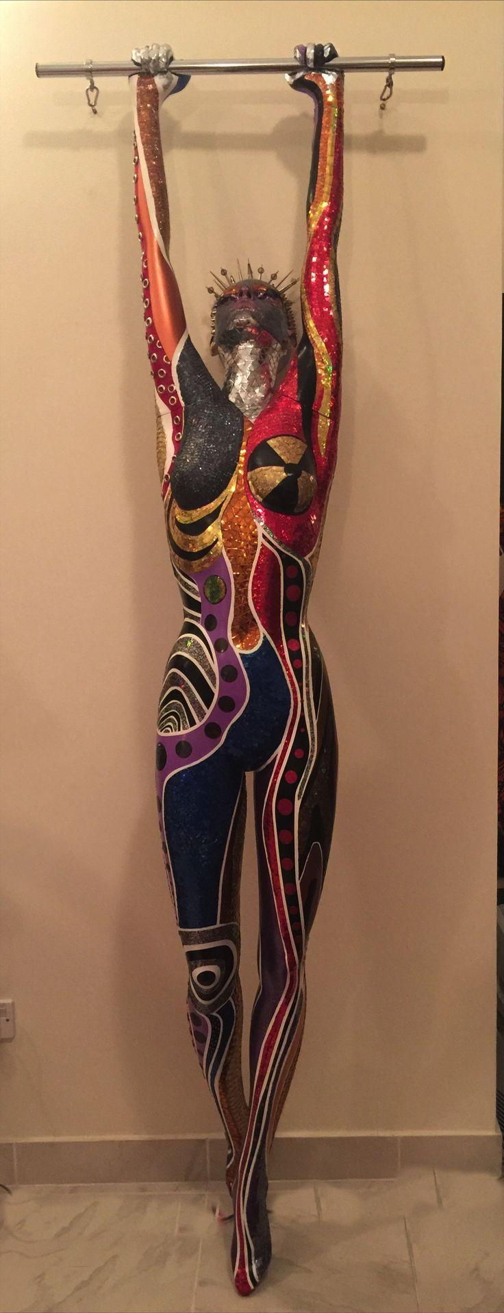 30 Best Craft Show Booth W/mannequins Images On Pinterest intended for Mannequin Wall Art