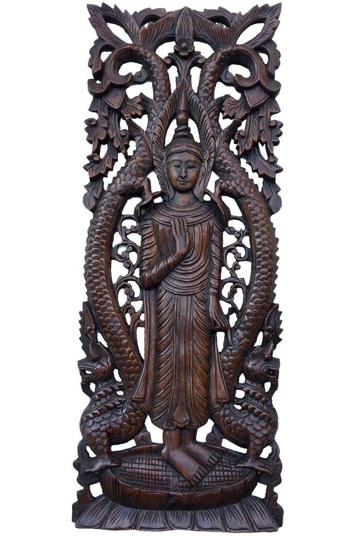 309 Best Products Images On Pinterest Inside Buddha Wooden Wall Art (Image 1 of 20)