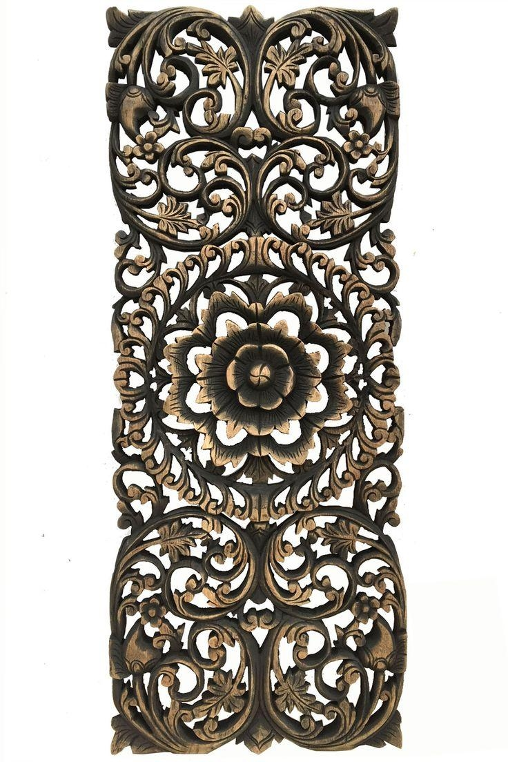 309 Best Products Images On Pinterest Regarding Asian Wall Art Panels (Image 1 of 20)
