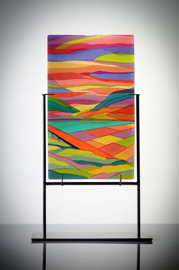 3164 Best Fused Glass Art Images On Pinterest | Fused Glass, Glass pertaining to Fused Glass Wall Art Hanging