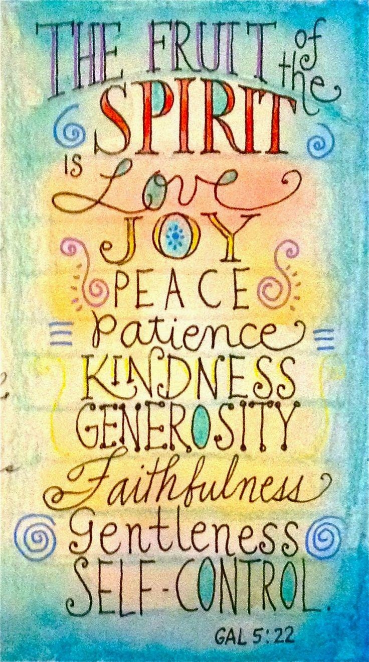 317 Best Fruit Of The Spirit Crafts Images On Pinterest | Fruit Of In Fruit Of The Spirit Artwork (Image 5 of 20)