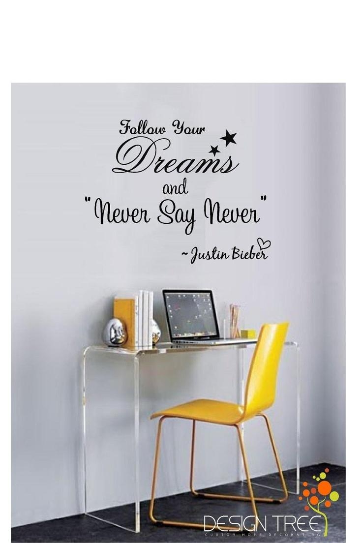 32 Best Celeb Quotes Images On Pinterest | Justin Bieber Quotes With Justin Bieber Wall Art (View 12 of 20)