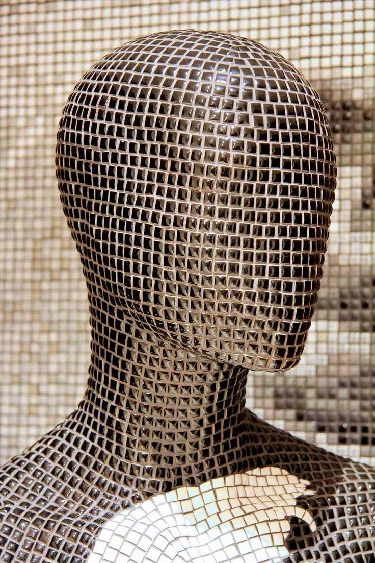 32 Best Exclusive Decorative Mosaic Art Mannequins Images On Pertaining To Mannequin Wall Art (Image 6 of 20)