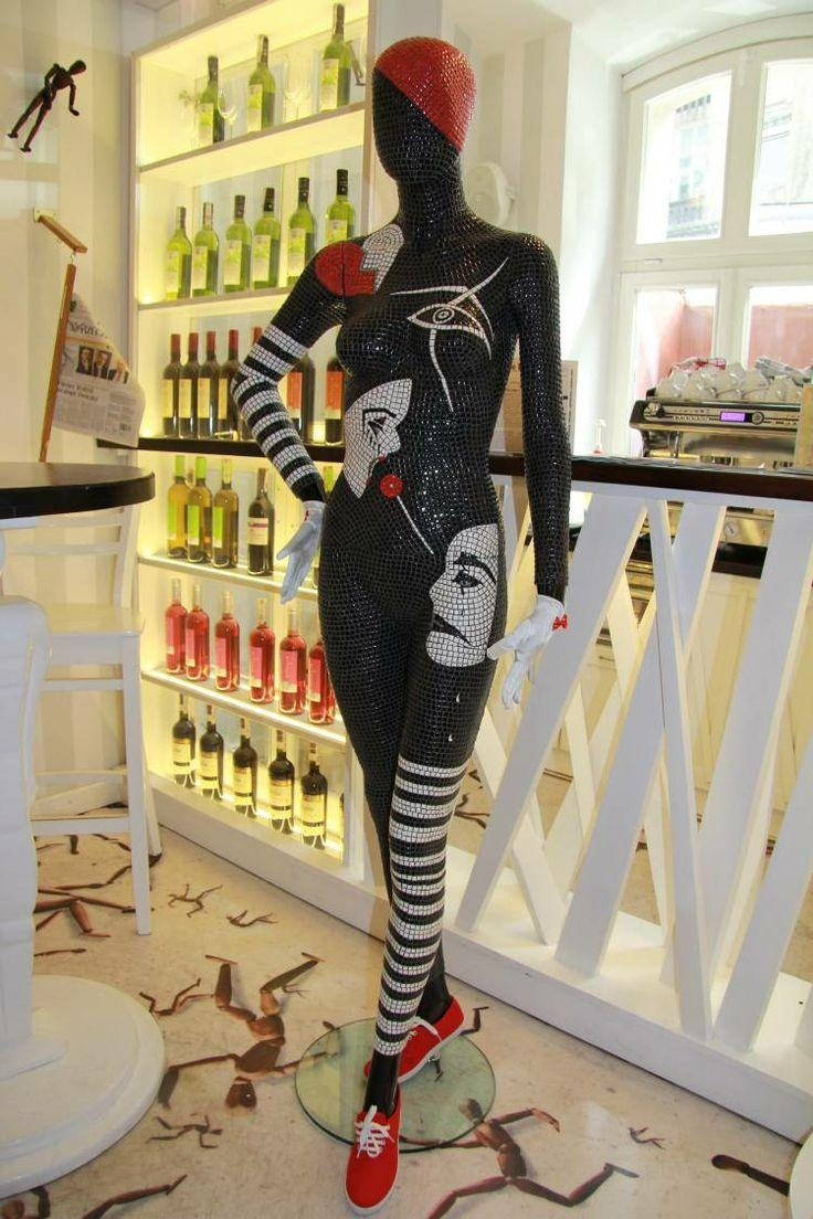 32 Best Exclusive Decorative Mosaic Art Mannequins Images On with regard to Mannequin Wall Art