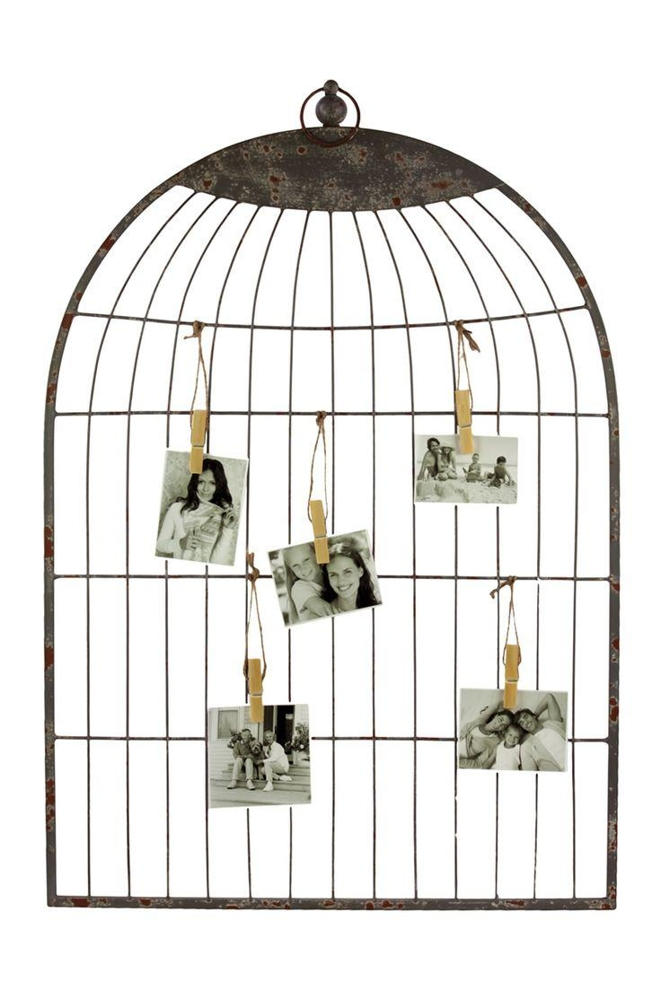 34 Best Diy Wall Decor Images On Pinterest | Diy Wall Decor Intended For Metal Birdcage Wall Art (Image 1 of 20)