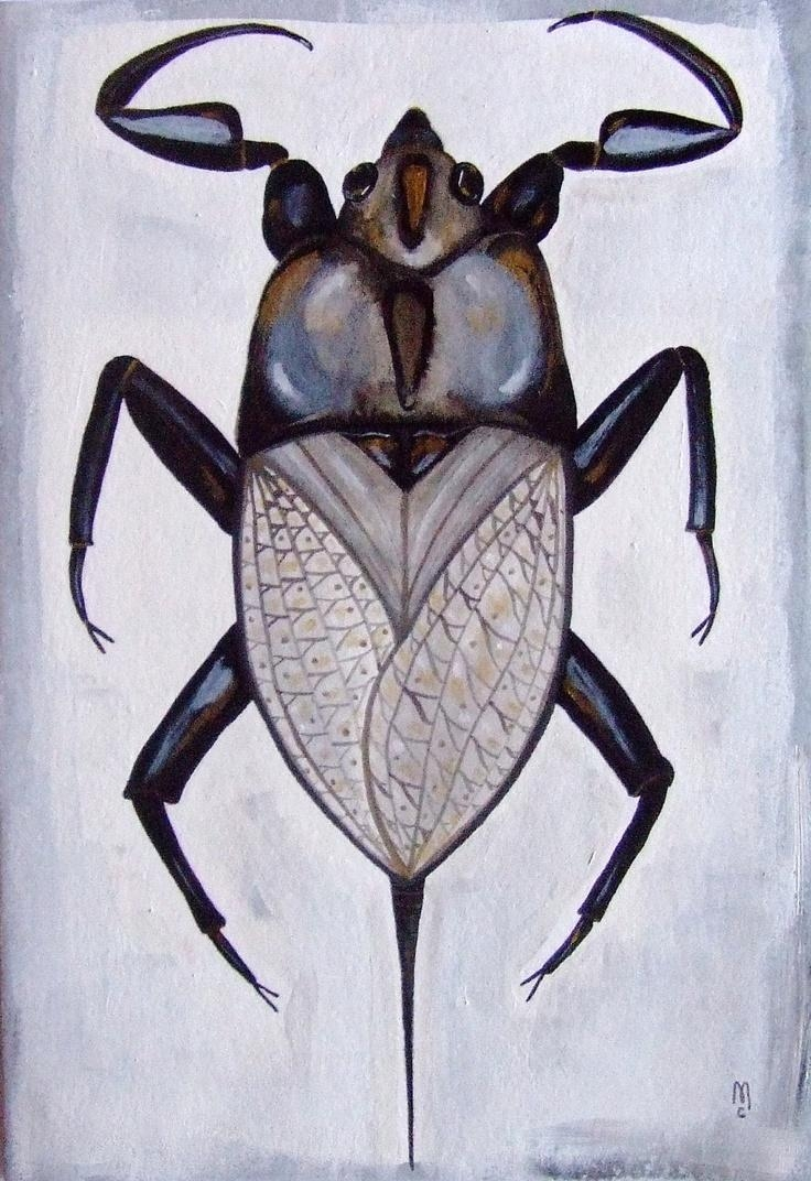 34 Best Insect Art Images On Pinterest | Insect Art, Insects And In Insect Wall Art (Image 2 of 20)