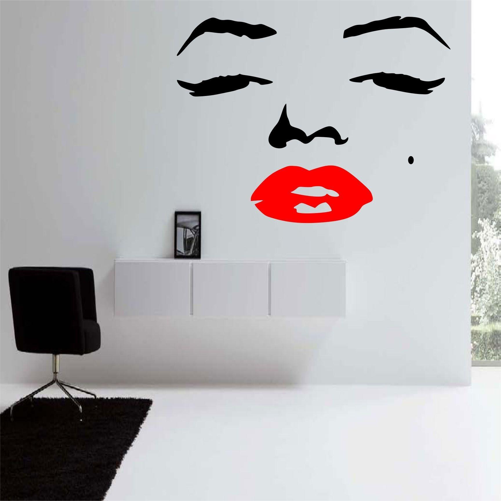 34 Marilyn Monroe Wall Decals, Marilyn Monroe 2 Wall Decal Norma throughout Marilyn Monroe Wall Art