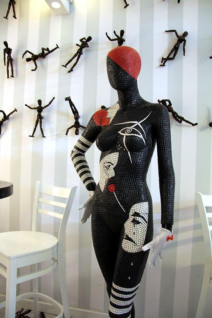 340 Best Mannequins Images On Pinterest | Mannequin Art, Mosaic pertaining to Mannequin Wall Art