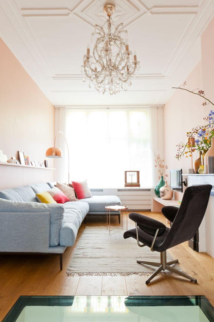 391 Best Pink Living Rooms Images On Pinterest | Pink Living Rooms Inside Wall Pictures For Living Room (Image 3 of 20)