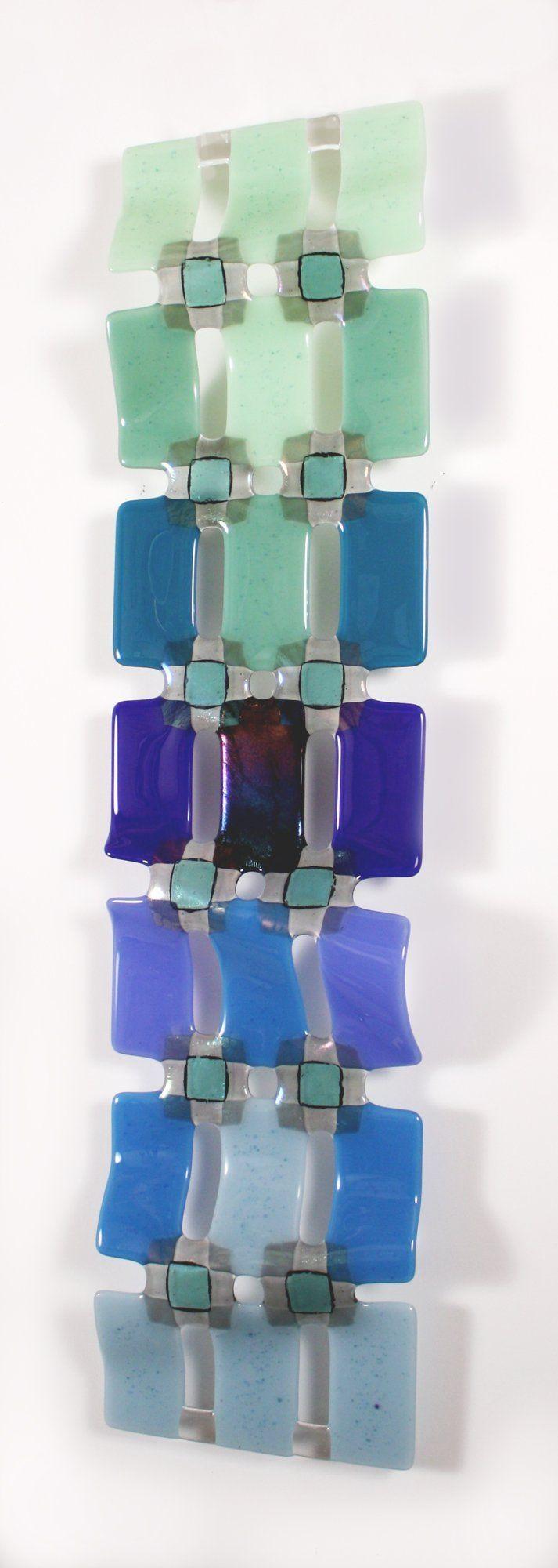 398 Best Glass: Art Pieces Images On Pinterest | Fused Glass throughout Fused Glass Wall Art Panels